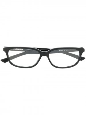 Rectangular-frame glasses Balenciaga Eyewear. Цвет: черный