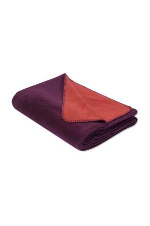 Покрывало-плед 155х215 CASABEL. Цвет: фиолетовый, оранжевый