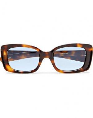 Солнечные очки FLATLIST. Цвет: коричневый