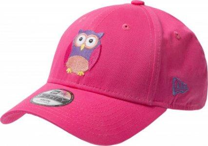 Бейсболка для девочек OWL 940, размер 54-55 New Era. Цвет: розовый
