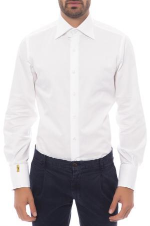 Рубашка Billionaire. Цвет: белый