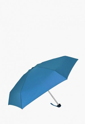 Зонт складной VOGUE. Цвет: голубой