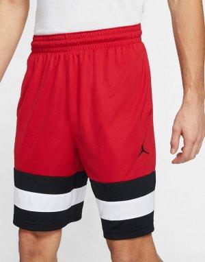 Красные баскетбольные шорты Nike Jumpman-Красный Jordan