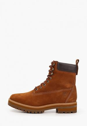 Тимберленды Timberland Courma Guy Boot WP SADDLE. Цвет: коричневый