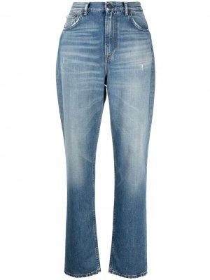 Прямые джинсы кроя слим Acne Studios. Цвет: синий