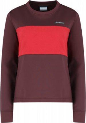 Джемпер флисовый женский  River™, размер 46 Columbia. Цвет: красный