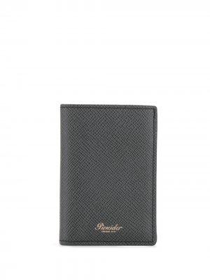 Бумажник 720 Pineider. Цвет: черный