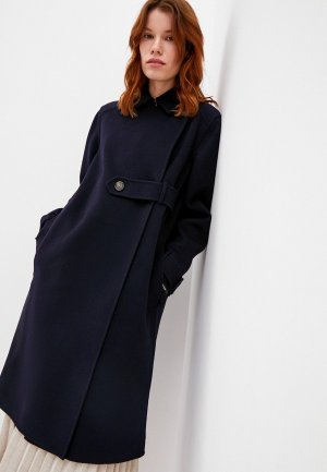 Пальто Sportmax Code CELSO. Цвет: синий