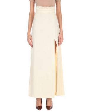 Длинная юбка ANIYE BY. Цвет: бежевый
