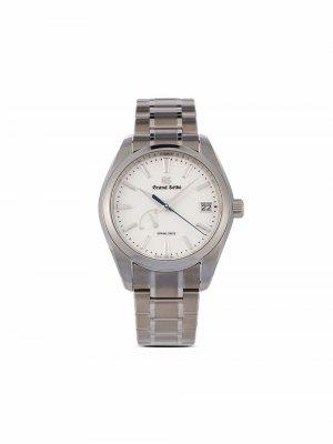 Наручные часы Spring Drive Snowflake pre-owned 41 мм 2021-го года Grand Seiko. Цвет: белый