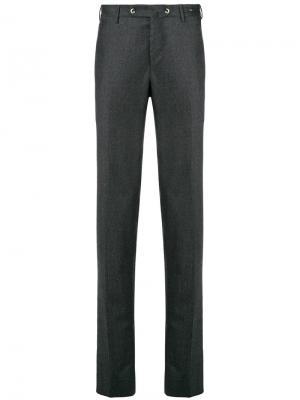 Классические однотонные брюки-чинос Pt01. Цвет: серый