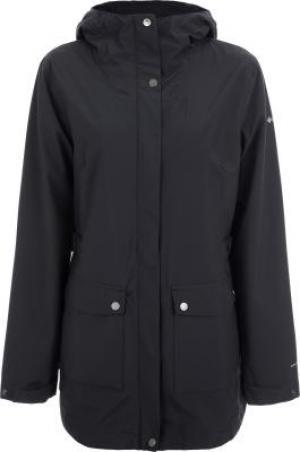 Куртка мембранная женская Here And re™, размер 42 Columbia. Цвет: черный