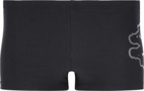 Плавки-шорты мужские , размер 52 Kappa. Цвет: черный