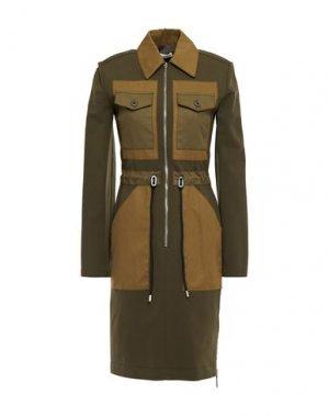 Короткое платье ALTUZARRA. Цвет: зеленый-милитари