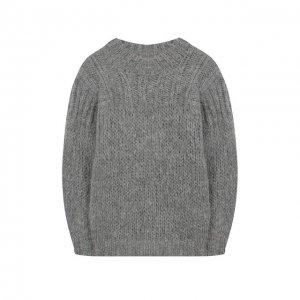 Шерстяной свитер Designers, Remix girls. Цвет: серый