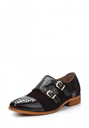 Туфли Laceys London. Цвет: коричневый