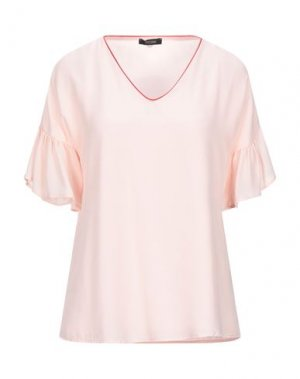 Блузка FRACOMINA. Цвет: розовый
