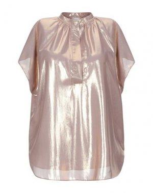Блузка NOLITA. Цвет: платиновый