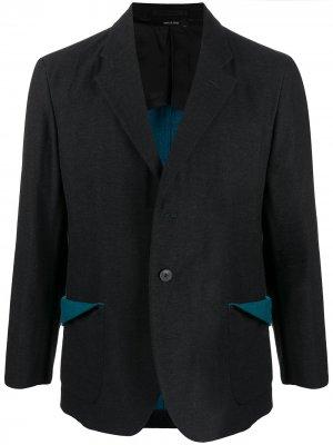 Однобортный пиджак Issey Miyake Men. Цвет: черный