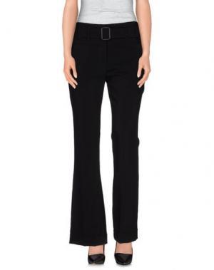 Повседневные брюки ABSOLU. Цвет: черный