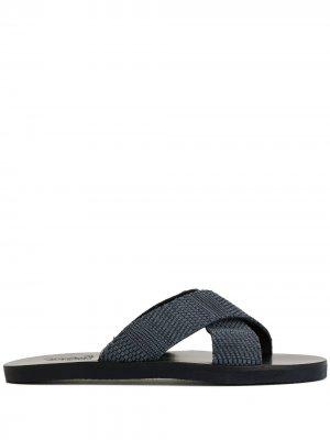 Сандалии Bios Ancient Greek Sandals. Цвет: синий