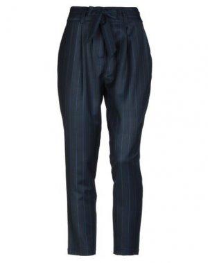 Повседневные брюки AAIKO. Цвет: темно-синий