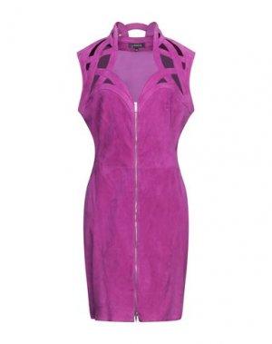 Короткое платье JITROIS. Цвет: фиолетовый