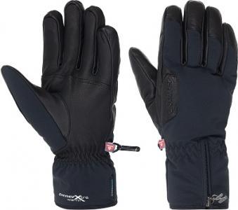 Перчатки мужские Giulio, размер 9 Ziener. Цвет: черный