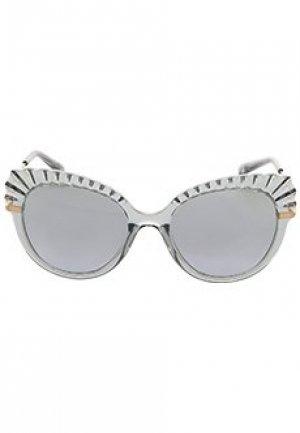 Очки DOLCE&GABBANA sunglasses. Цвет: голубой