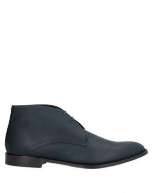 Полусапоги и высокие ботинки CASTORI. Цвет: черный