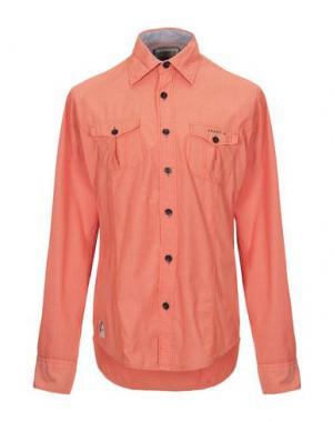 Pубашка FRANK Q. Цвет: оранжевый
