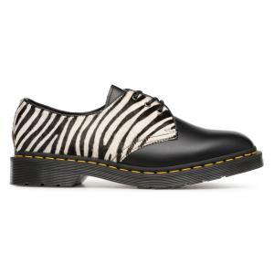 Ботинки-дерби кожаные DR MARTENS. Цвет: черный