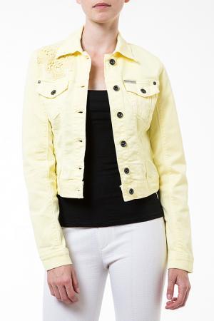Куртка Dept. Цвет: желтый