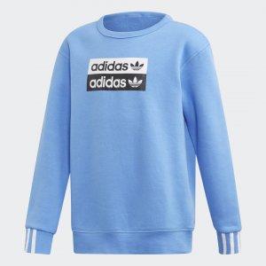 Свитшот Crewneck Originals adidas. Цвет: синий