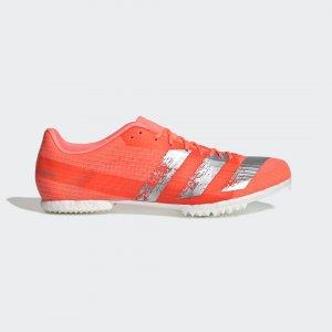 Шиповки для легкой атлетики adizero md Performance adidas. Цвет: белый