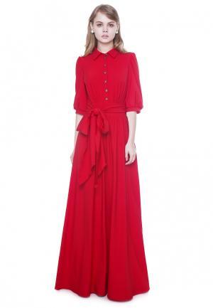 Платье Marichuell DEVALDY. Цвет: красный