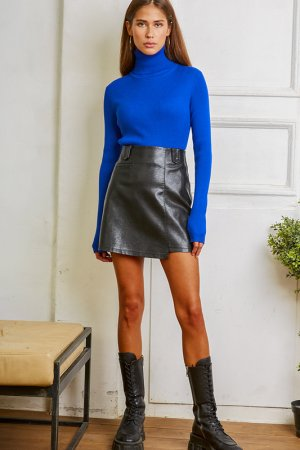 Водолазка DELIA DRESS MOSCOW. Цвет: синий