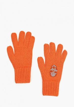 Перчатки Katomi. Цвет: оранжевый