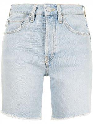 Джинсовые шорты Venus Angels Fiorucci. Цвет: синий