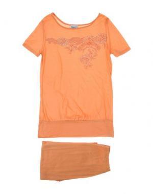Пижама BLUGIRL BLUMARINE UNDERWEAR. Цвет: абрикосовый