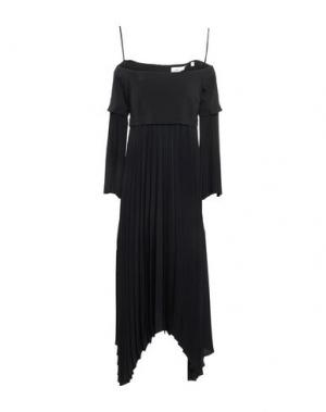 Платье до колена A.L.C.. Цвет: черный
