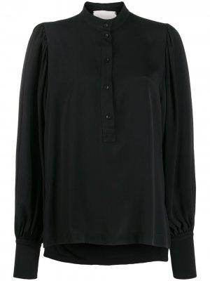 Расклешенная блузка с длинными рукавами 8pm