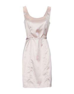 Короткое платье EDAS. Цвет: бежевый