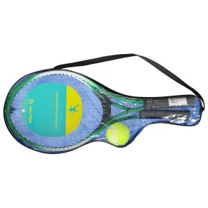Ракетки для большого тенниса с мячом, детские, цвет зелёный ONLITOP