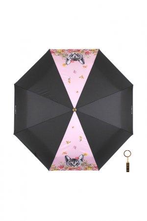 Зонт-автомат Flioraj. Цвет: розовый