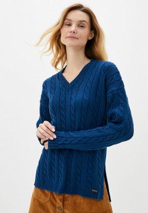 Пуловер Auden Cavill. Цвет: синий