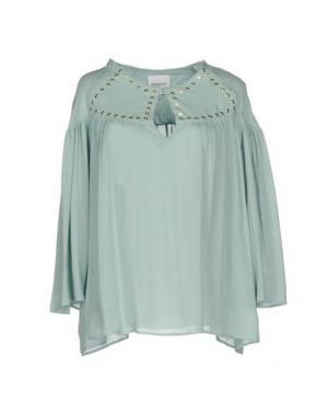 Блузка ANNARITA N TWENTY 4H. Цвет: небесно-голубой