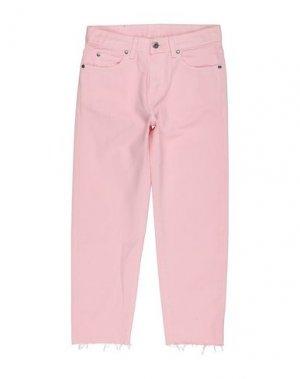 Джинсовые брюки DR. DENIM JEANSMAKERS. Цвет: розовый