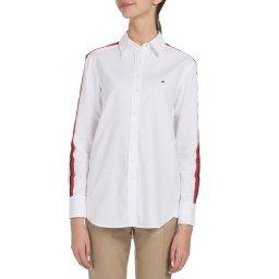 Рубашка WW0WW26060 белый TOMMY HILFIGER