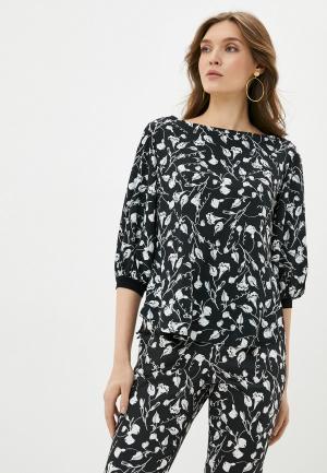 Блуза Adzhedo. Цвет: черный